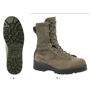 "8"" SteelToe Waterproof Insulated Military 675ST 3R"